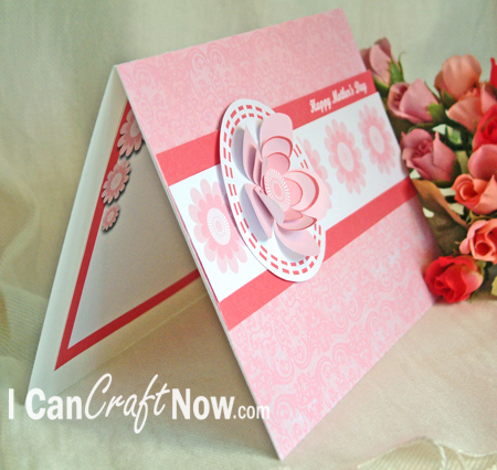 This Hybrid Card Kit can make a Happy Birthday (or Mothers Day) Card