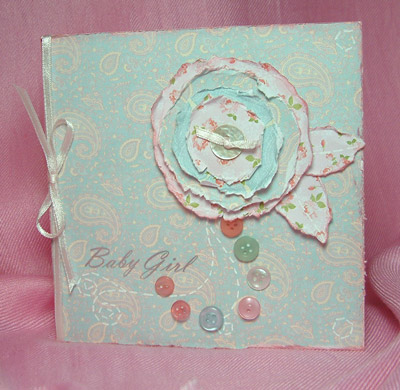 Baby Girl Card by SundayL
