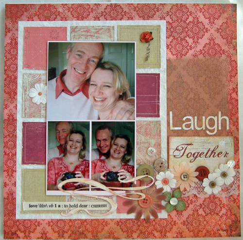 Scrapbooking layout inspiration patchwork style scrapbooking video and multiphoto layouts - Scrapbooking idees pages ...