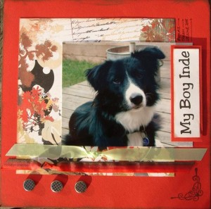 My Boy Inde - 8x8 Scrapbooking Page by SundayL
