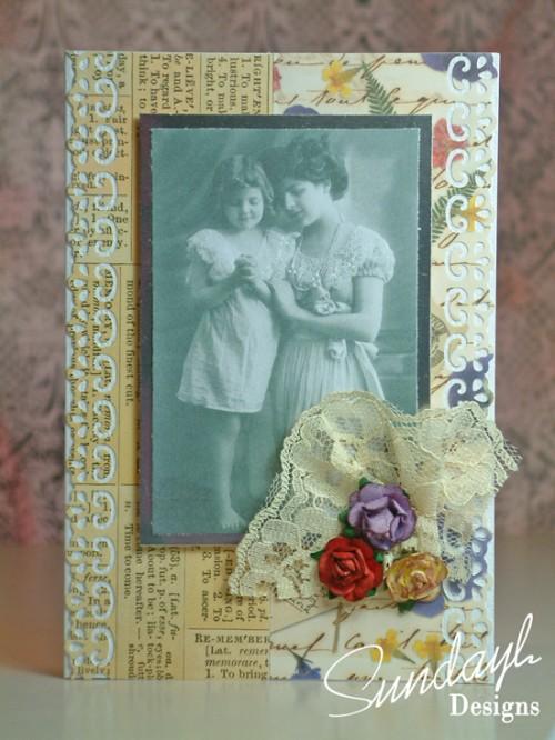 Vintage Card by SundayL 11 Aug