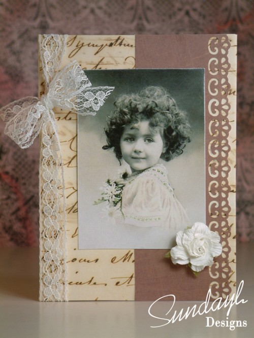 Vintage Style Card by SundayL 15 Aug