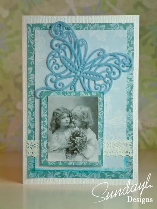 Vintage Style Card by SundayL Aug 16