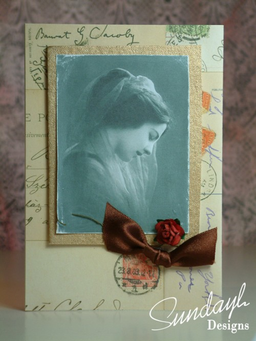 Vintage Style Card by SundayL 18 Aug