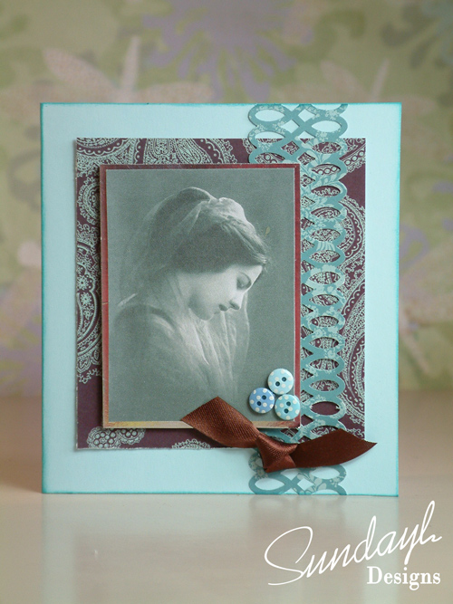 Vintage Style Card by SundayL 19 Aug