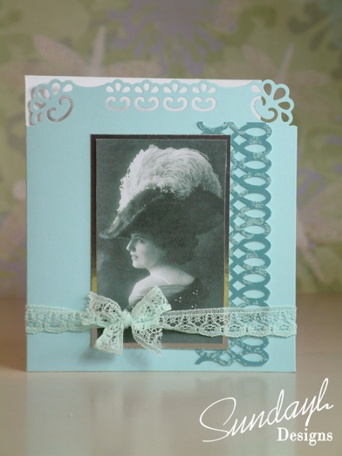 Vintage Style Card by SundayL 20 Aug