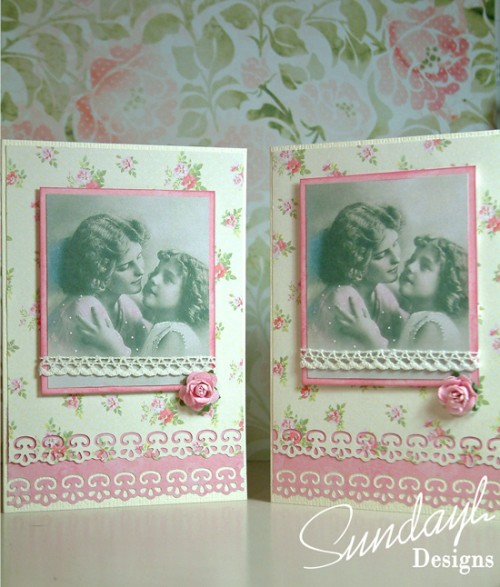 Vintage Style Cards by SundayL 22 Aug