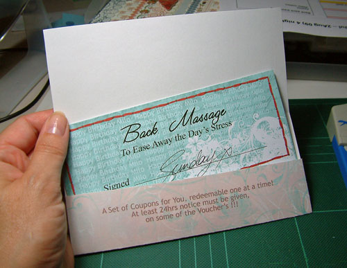 Birthday Vouchers for a Man