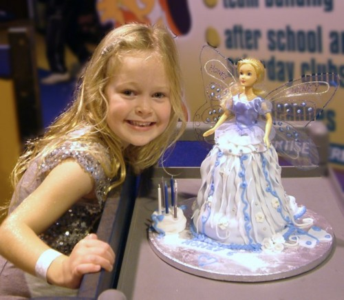 Fairy Birthday Cake for Honey by SundayL