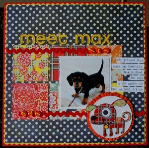 """Meet Max"" a layout by Aphra"