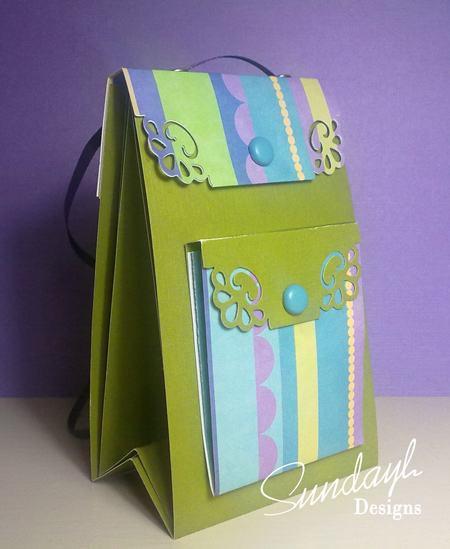 Mini Back-Pack Scrapbook Album by SundayL