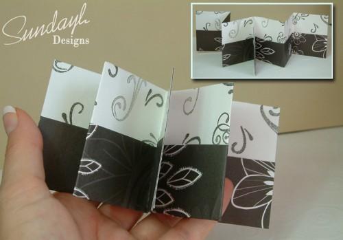 mini pocket album montage