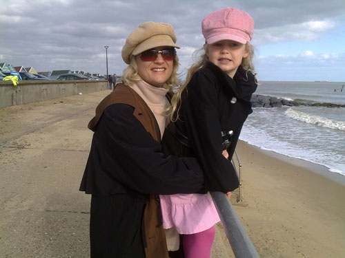 Sunday & H at Southwold