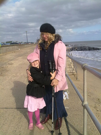 Sunday's Mum and H at Southwold