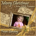 """Quick Christmas Card Example - 4x4"""""""
