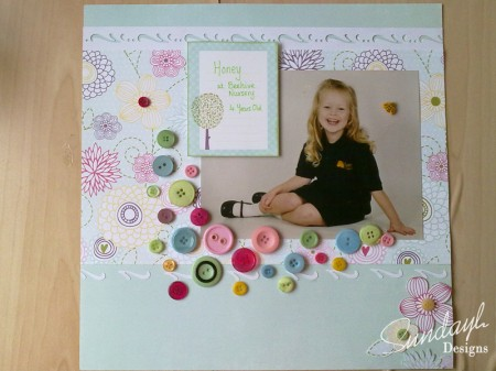 scrapbook-page-beehive