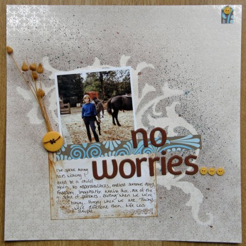 """No Worries"" by Siobhan"