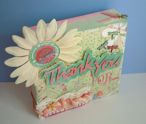 """Thank You For..."" Scrapbooking Canvas by SundayL"